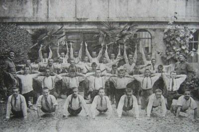 préparation militaire - 1917