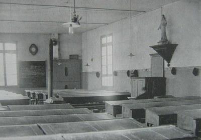 la grande salle d'étude - 1919