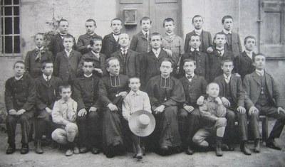 classe de troisième - 1907