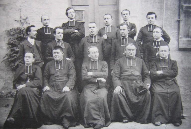 les professeurs - 1907