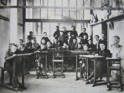cours de dessin - 1911
