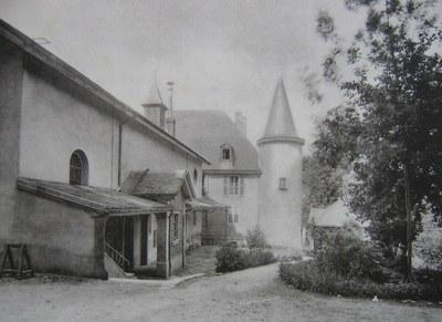 la chapelle & le château - 1911