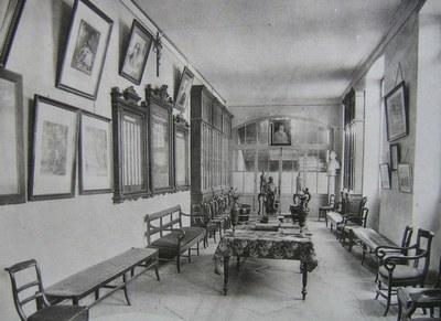 le parloir - 1911