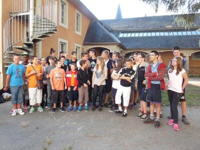 photo du groupe rentrée